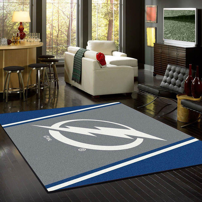 Tampa Bay Lightning Rug Team Spirit - Fan Cave Rugs