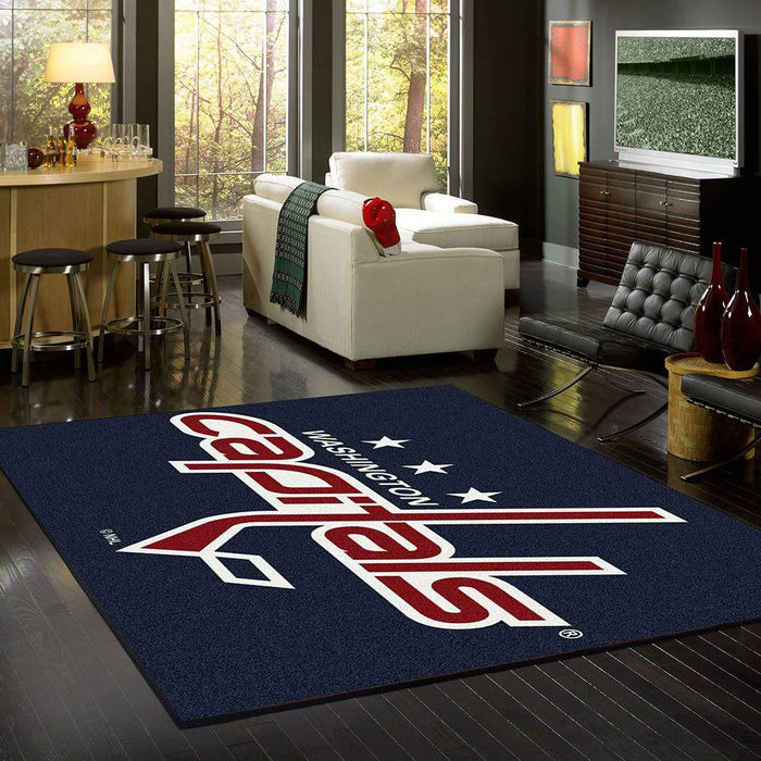 Washington Capitals Rug Team Spirit
