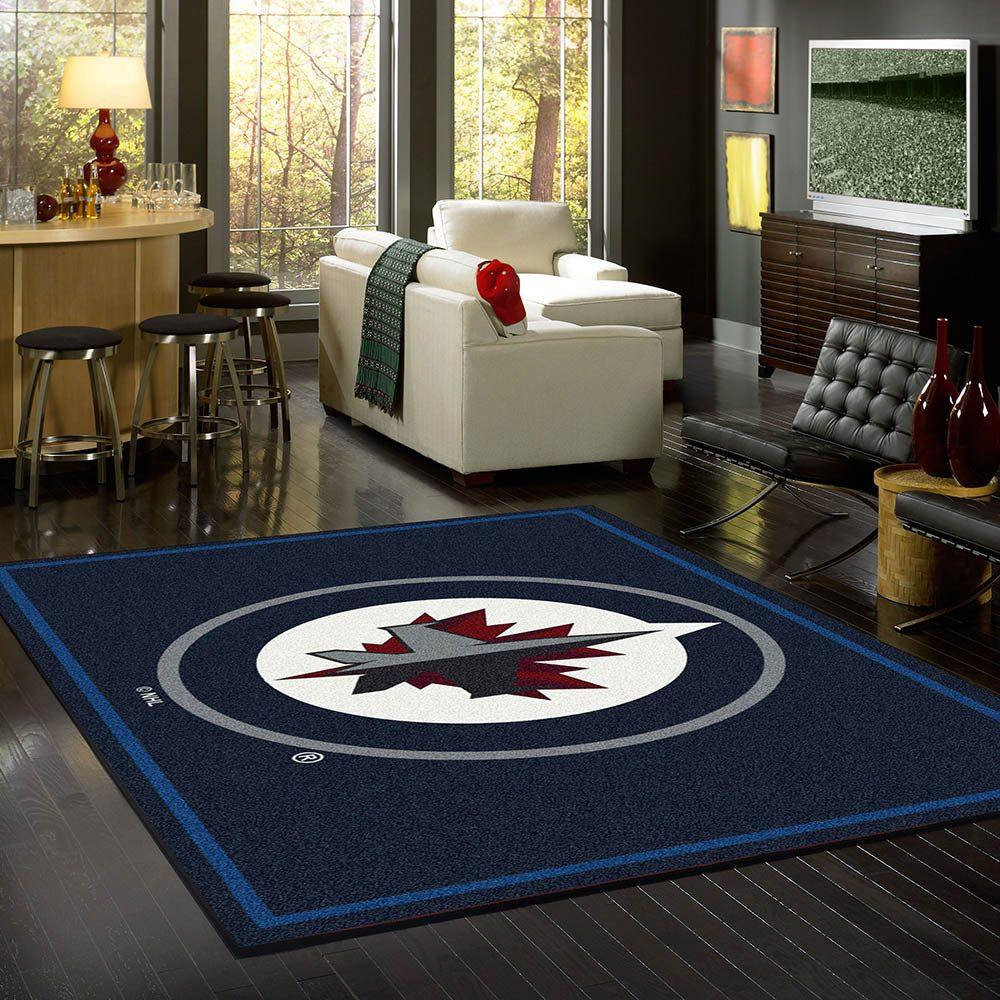 Winnipeg Jets Rug Team Spirit