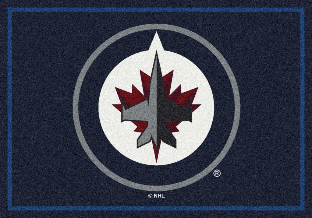 Winnipeg Jets Rug Team Spirit - Fan Cave Rugs