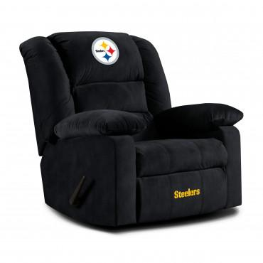 PITTSBURGH STEELERS PLAYOFF RECLINER From Fan Cave Rugs