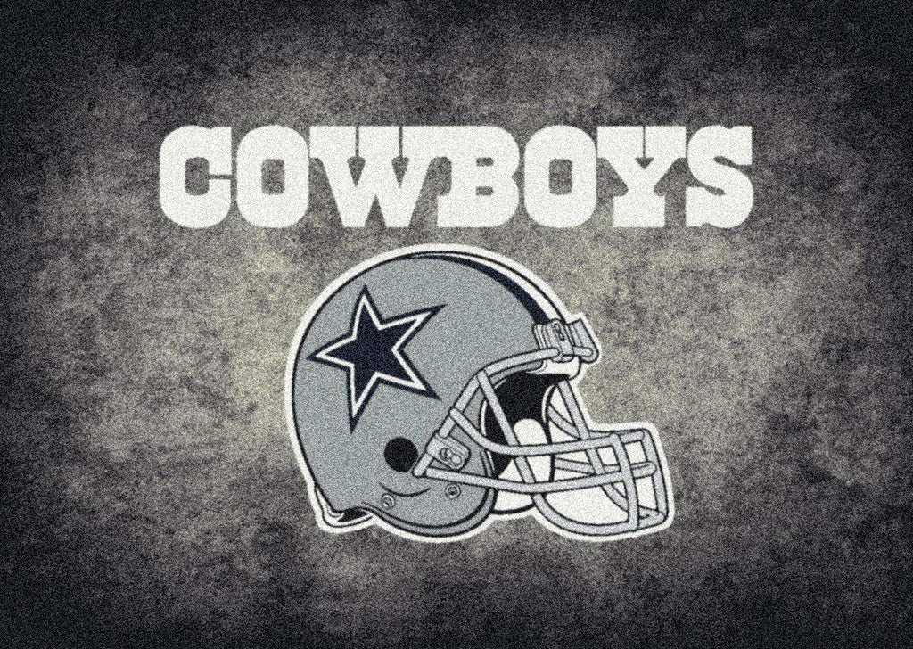 Fan Cave Rugs:Dallas Cowboys Rug Team Distressed