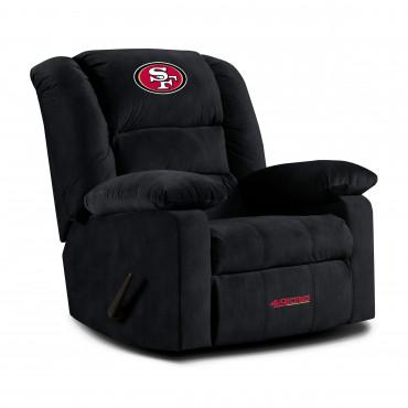 SAN FRANCISCO 49ERS PLAYOFF RECLINER From Fan Cave Rugs