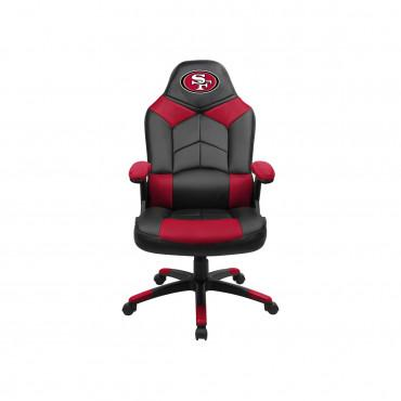 SF 49ERS OVERSIZED GAMING CHAIR From Fan Cave Rugs