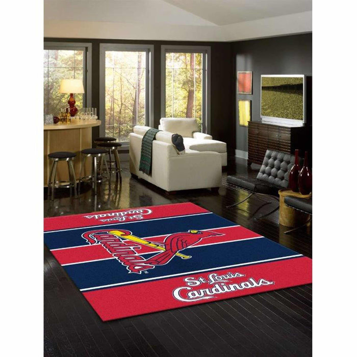ST LOUIS CARDINALS 8X11 VICTORY RUG From Fan Cave Rugs