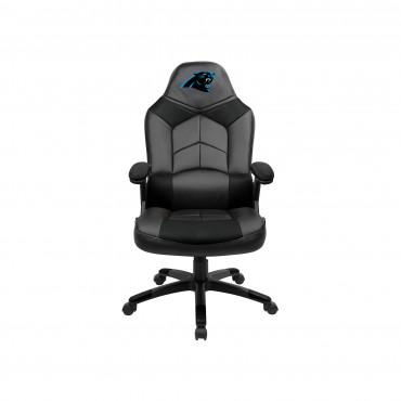 CAROLINA PANTHERS OVERSIZED GAMING CHAIR From Fan Cave Rugs