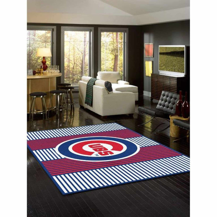 CHICAGO CUBS 8X11 CHAMPION RUG From Fan Cave Rugs