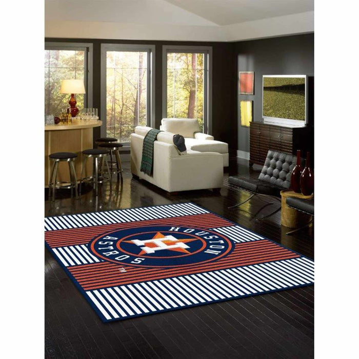 HOUSTON ASTROS 8X11 CHAMPION RUG From Fan Cave Rugs