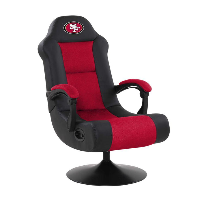 SAN FRANCISCO 49ERS ULTRA GAME CHAIR From Fan Cave Rugs