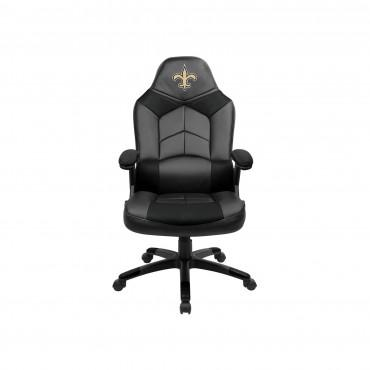 NEW ORLEANS SAINTS OVERSIZED GAMING CHAIR From Fan Cave Rugs