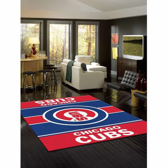 CHICAGO CUBS 8X11 VICTORY RUG From Fan Cave Rugs