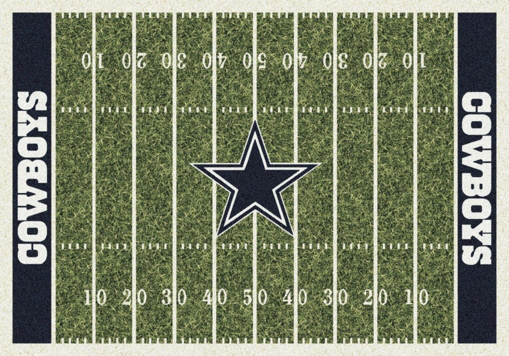 Dallas Cowboys Field rug