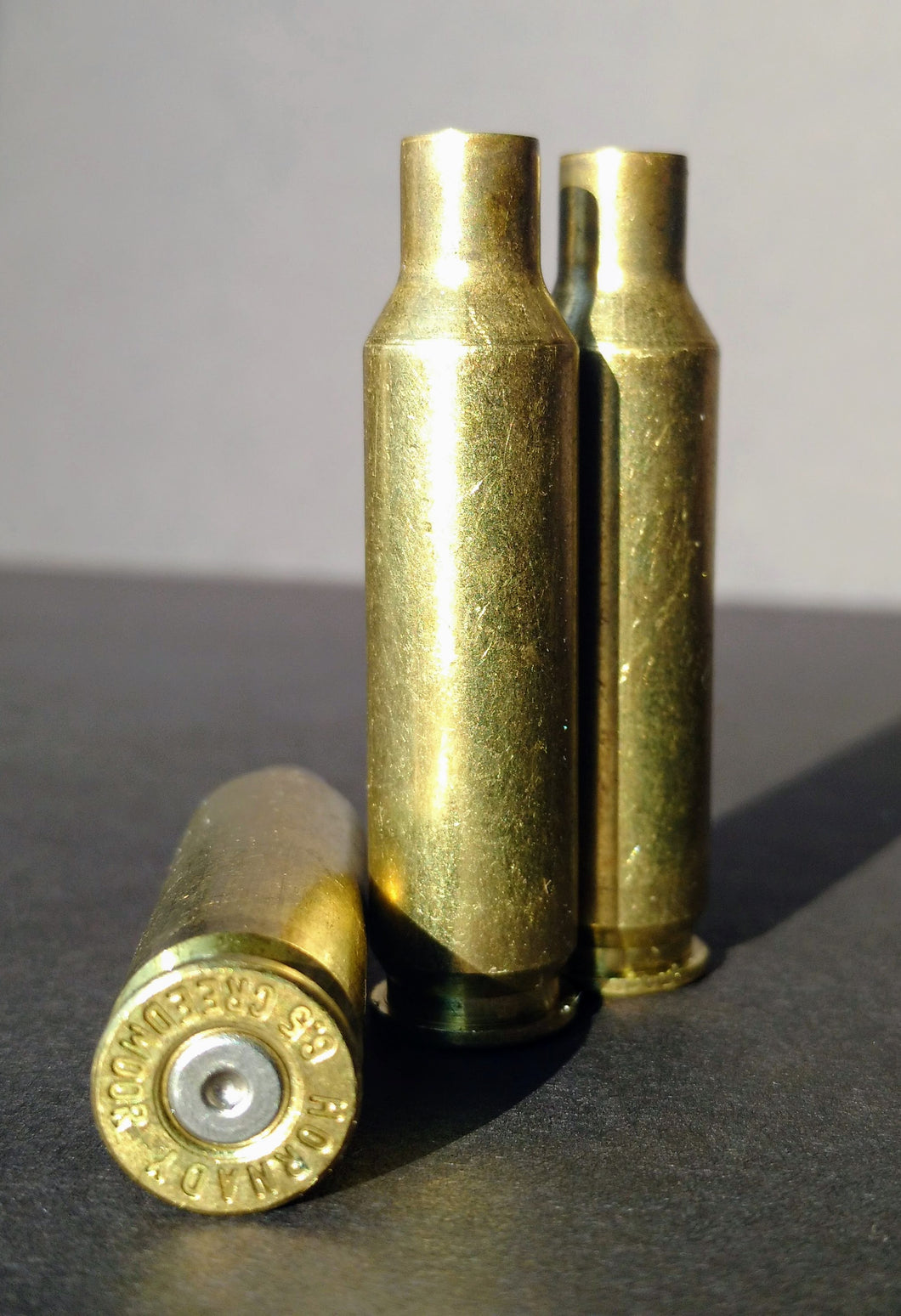 6.5 Creedmoor Mixed Headstamp Brass Cases
