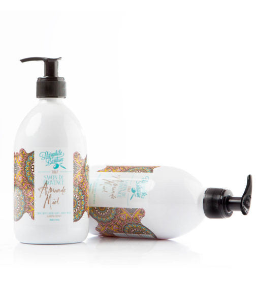 Provence Liquid Soap - French Almond & Organic Honey
