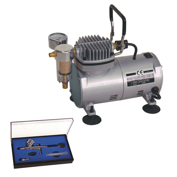 Formula Air Brush Compressor with Airbrush Kit