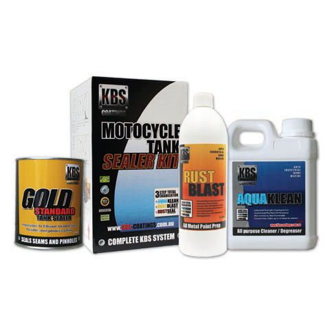 KBS Fuel Tank Sealer Kit - Motorcycle