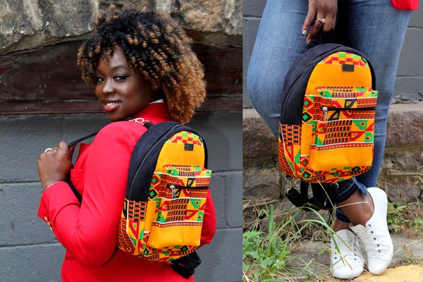 Radiant MEDIUM Kente Backpack