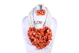 Cluster Beaded Necklace - MORE COLORS