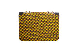 Scale Ankara Quilted Bag