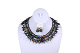 Crisscross Beaded Necklace - MORE COLORS