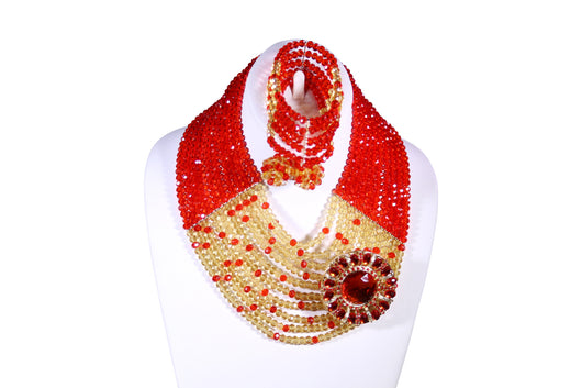 Cherry Tart Beaded Choker - MORE COLORS