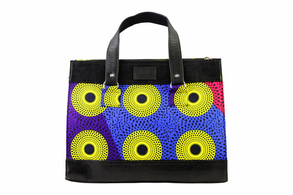 Dots Ankara Satchel Bag VARIOUS COLORS