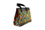 Floral Ankara Satchel Bag