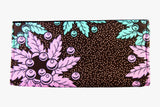 Floral Dots Ankara Clutch Purse