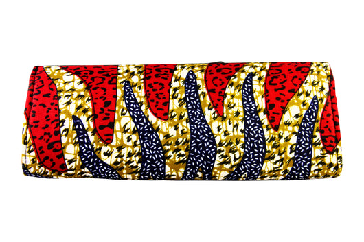 Blue Wave Ankara Clutch Purse VARIOUS COLORS