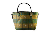 Green Ankara Tote Bag