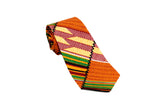 Grid Kente Neck Tie Pocket Square Set MORE COLORS AVAILABLE