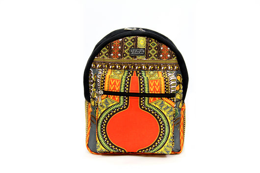 Grey MEDIUM Angelina Dashiki Backpack