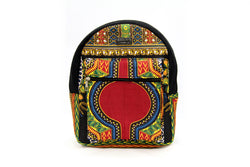 Black MEDIUM Angelina Dashiki Backpack