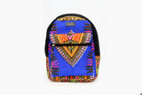 Blue MINI Angelina Dashiki Backpack