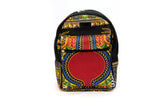 Black MINI Angelina Dashiki Backpack