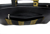 Goldstripe Laptop Aso Oke Bag