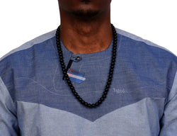 JIDE Gear African Onyx Necklace Black