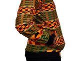Kente Men's Bomber Jacket