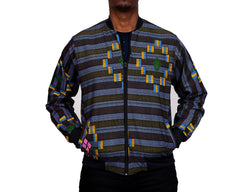 Kente Hybrid Men's Bomber Jacket