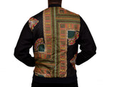 Dashiki Black Blend Men's Bomber Jacket
