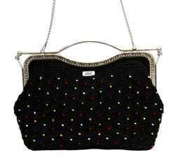 Jide Gear Blackshine Dinner Crochet Bag Front