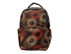 Jide-Gear-Brown-Swirl-Ankara-Backpack-Front