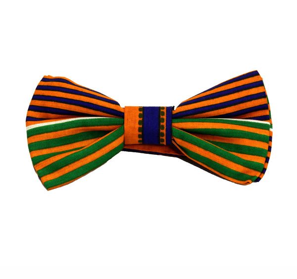 Jide Gear Greenflow Kente Pretie Bow-tie