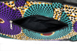 Jide Gear Swirl Laptop Ankara Bag Back Pocket