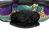 Jide Gear Waves Laptop Ankara Bag Front Pocket