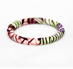 Jide Gear Lilacsplash Slim Ankara Bangle