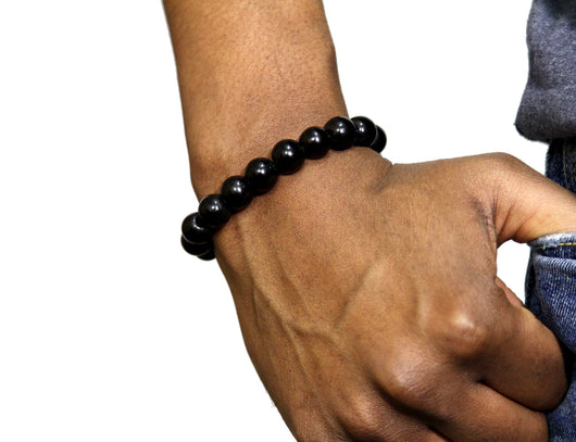 Jide Gear Black Onyx Gemstone Bracelet