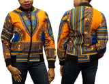 Orange Dashiki Women's Jogger Top