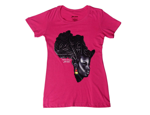 Mother Africa T-Shirt Pink