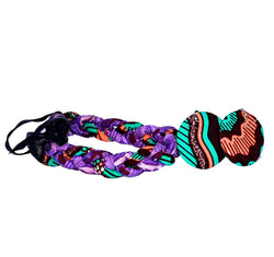 Jide Gear Purple Headband Necklace